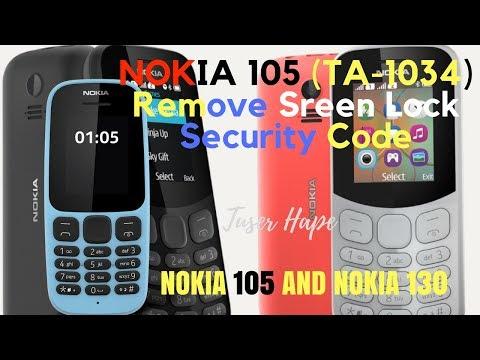 Hapus Kunci Kode Nokia 105 TA-1034