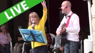 Concert pour des EHPAD au château de Cerny [Anthony Chanteur Pro]