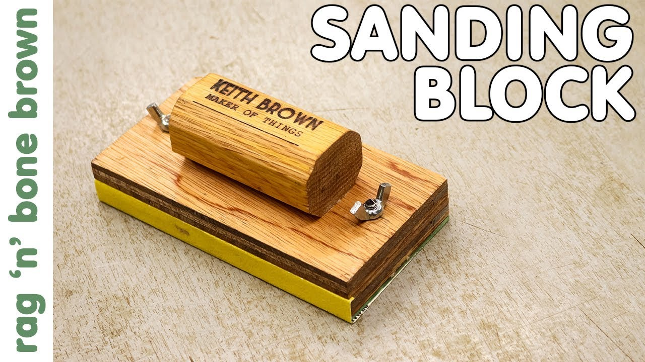how to make a simple sanding block