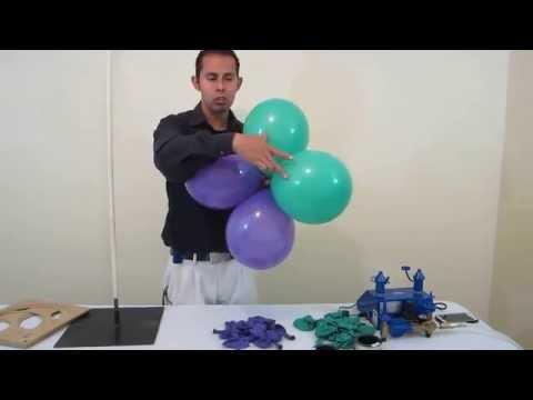 Como hacer un Arco de globos - decoraciones con globos