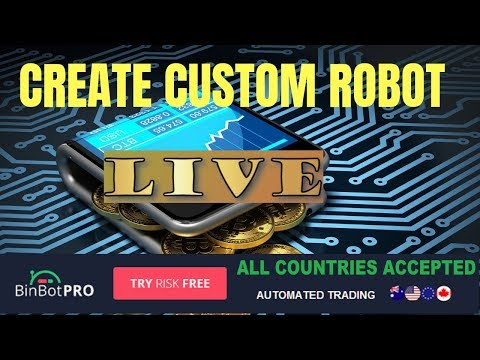 bin bot pro create your own robot live session with new robot binbot pro