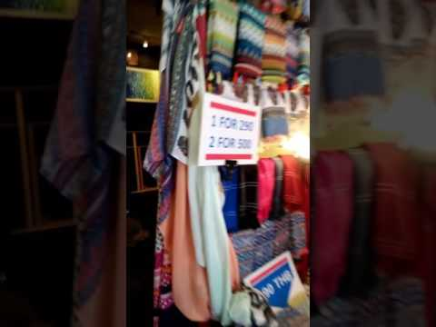Bangkok: Walking around in Chatuchak market - amazing art section