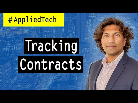 Tracking Contracts | Hemanth Puttaswamy from Malbek