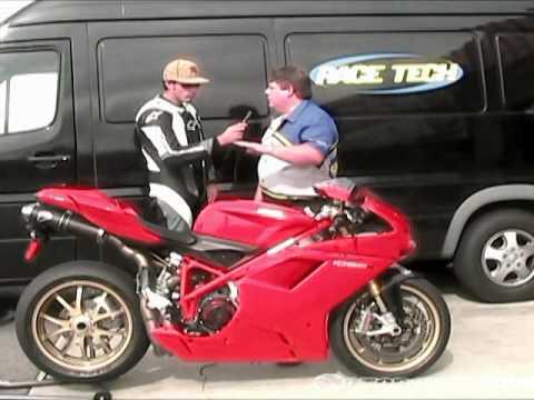 2007 Ducati 1098S Corse Review - MotoUSA - YouTube