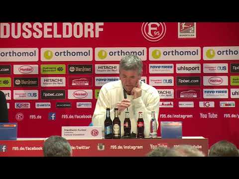 Pressekonferenz Fortuna Düsseldorf gegen Dynamo Dresden I 28. Nov. 2017