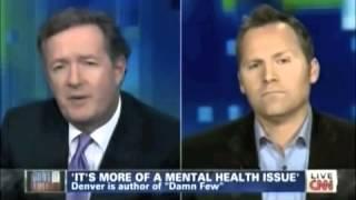Navy SEAL Schools Piers Morgan