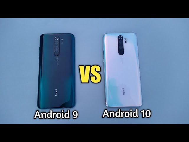 REDMI NOTE 8 PRO ANDROID 9 VS Android 10 - SPEED TEST!!