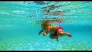Underwater Baby. baby dives, baby underwater, baby swims Teach baby to swim. Teach baby to dive.