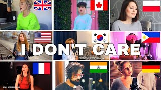 Who Sang It Better : Ed Sheeran & Justin Bieber - I Don't Care (us,uk,canada,poland,philippines) mp3