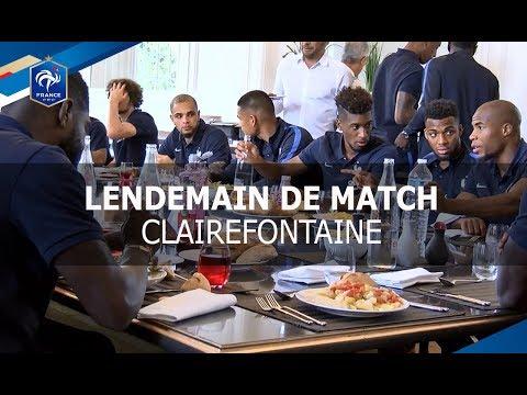 Equipe de France : lendemain de victoire à Clairefontaine