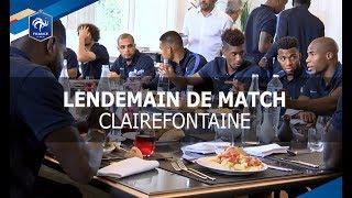 Equipe de France : lendemain de victoire à Clairefontaine thumbnail