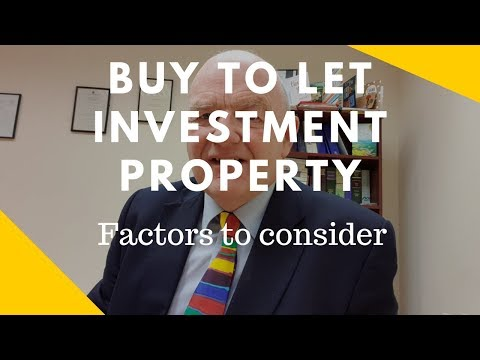 Buy To Let Investment Property In Ireland-Factors To Consider Before Investing