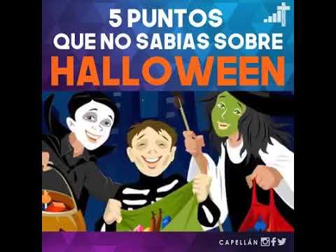 Datos que debe saber sobre Halloween