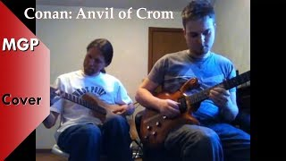 Anvil of Crom / Conan the Barbarian Main Theme - 2 Electric Guitars