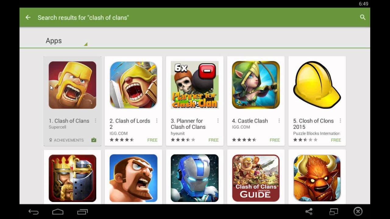10 Top Free Android Tablet Games to download | GetANDROIDstuff