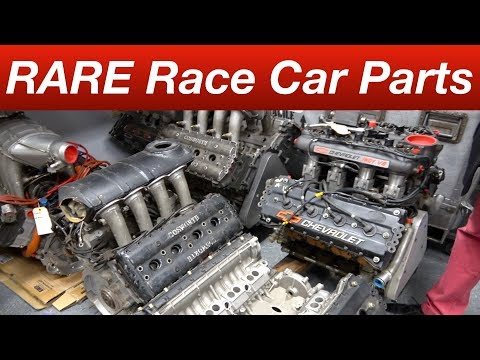 Super RARE Race Car Parts Behind The Scenes Keep Epic Indy And Can Am Cars Alive!