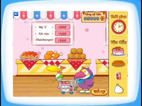 """Chơi game """"Món quà sinh nhật"""" (socnhi.com/ Công viên game)"""