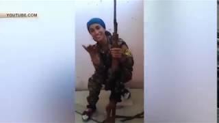 Женщину снайпера рассмешила чуть не убившая ее пуля.