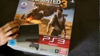 Unboxing/Review PS3 Slim 320 GB + Uncharted 3 Bundle [HD+]