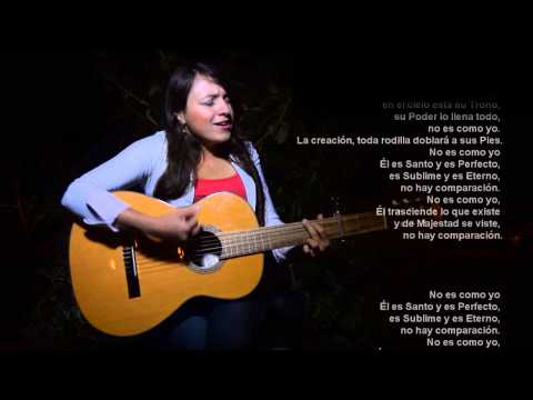 ... es como yo letra Jesús Adrián Romero - cover Juli Betancur - YouTube