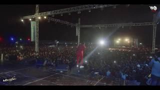 Mbosso live perfomance Maajab Dar es salaam wasafi festival 2019