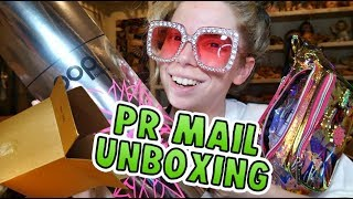 UNBOXING A PILE of PR Mail! & MASSIVE MAKEUP Giveaway!