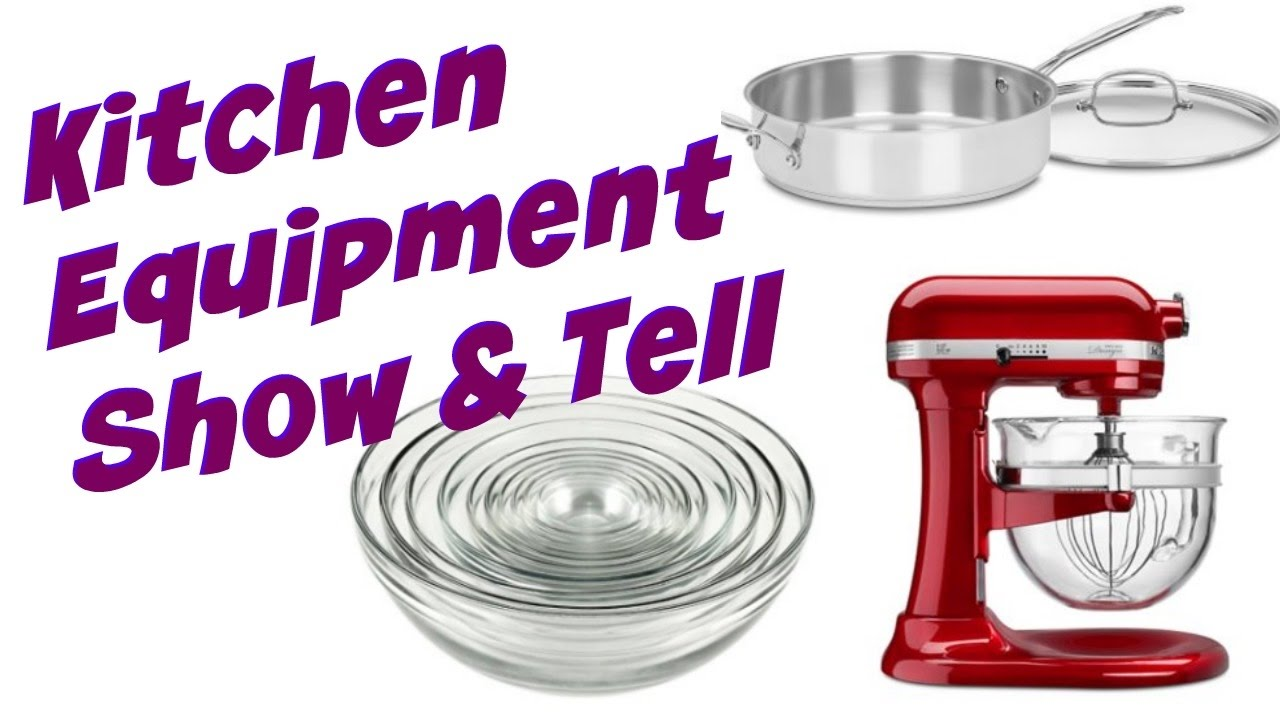 KITCHEN EQUIPMENT and TOOLS |SHOW and TELL | Cooking With Carolyn