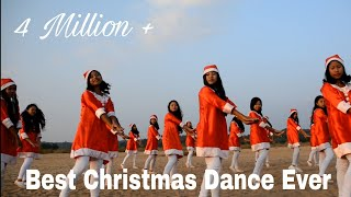Best Christmas Dance 2018 (Official) Garo, Christmas Sal, Fr. Jimberth & Team