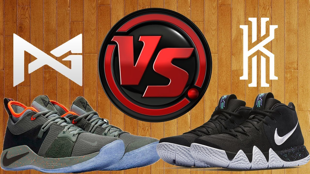 premium selection a2a5c 4564f Nike PG 2 vs Nike Kyrie 4   Don t buy without watching this video first.
