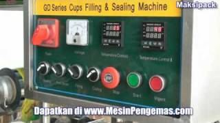 Repeat youtube video Mesin Cup Sealer Otomatis 2 Line Untuk Usaha Minuman Cup Plastik