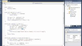 C++ 7 Множество