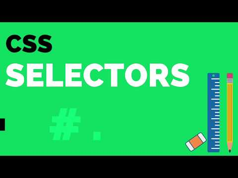 CSS Selectors - How To Style HTML Tags Using CSS Selectors?