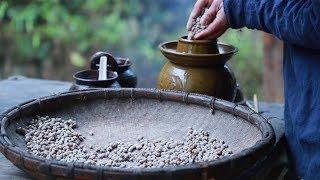 """【伍阿哥】湖南農村美食""""豆豉"""",奶奶教的原始製作方法,獨特的味道很下飯!"""