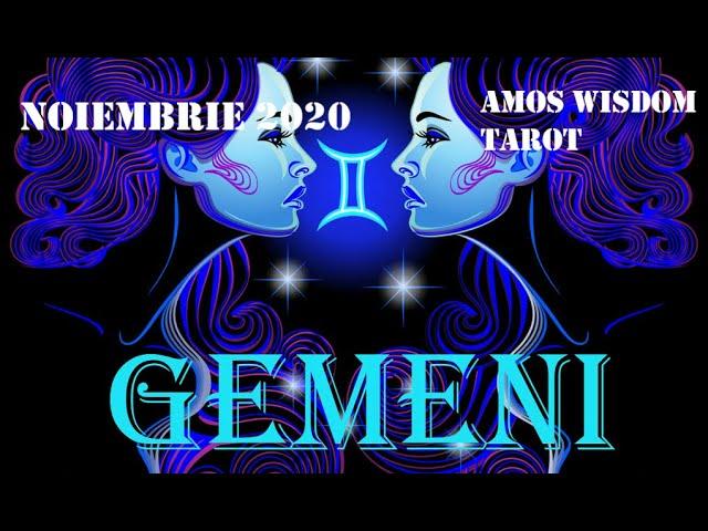 Tarot Horoscop - Gemeni - Noiembrie 2020