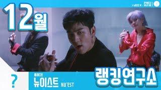 [랭킹연구소] 2018년 12월 보이그룹 순위 (남자아이돌 브랜드) | K-POP IDOL Boy Group…