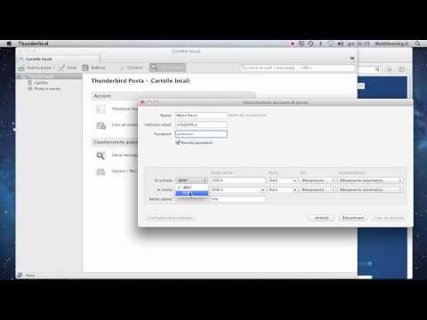 Guida alla configurazione di Mozilla Thunderbird