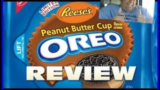 Oreo® Reeses Peanut Butter Cup Cookies Review!
