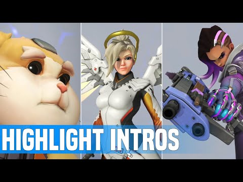 Overwatch: All Highlight Intros 2020 | Anniversary Background HD