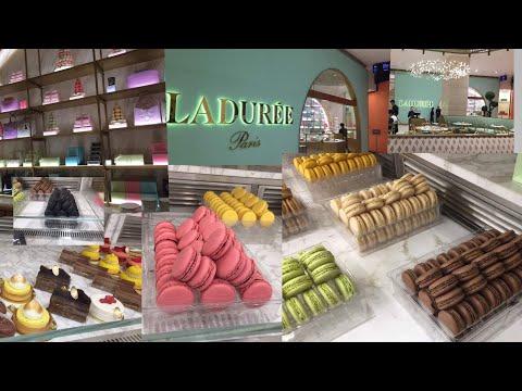 Parisian Ladurée Tea Room In Pavilion Kuala Lumpur, Malaysia | Macarons Lovers' Paradise