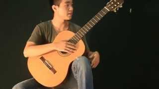 Bài 1: Tư thế cầm đàn và giữ đàn Guitar Cổ Điển