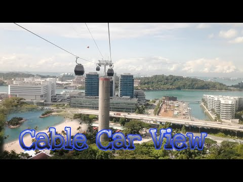 Cable Car in Singapore   Nice View