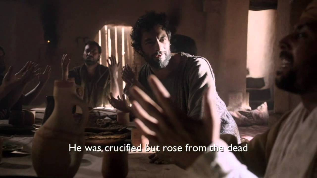 Pinse - disciplene modtager Helligånden