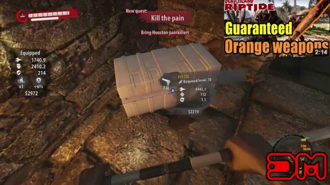 dead island riptide unlimited ammo
