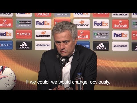 Jose Mourinho - 'We Would Swap Europa League For The Manchester Bombing Victims' Lives'
