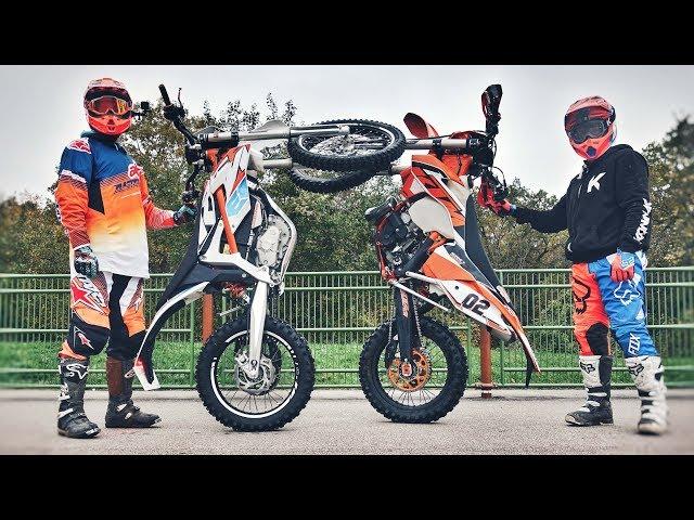 KTM NOUS PRETE 2 MOTOS ! DEUX GAMINS EN ENDURO !