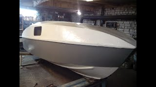 Самодельная лодка - катер из фанеры