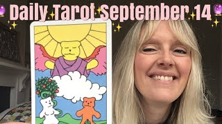 Daily tarot September 14,  2018 ~ Step Away (you know it makes sense..)