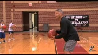 Brett Brown Visits Spurs Camp