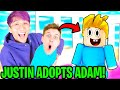 Can BABY LANKYBOX Get ADOPTED By LANKYBOX JUSTIN In Roblox ADOPT ME!? (FUNNIEST ADOPT ME MOMENTS)