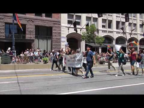 San Francisco Pride Parade 2016 Pine United Methodist Church